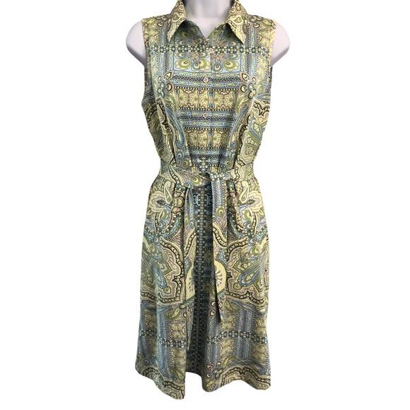 J. McLaughlin Dolly Dress Catalina Cloth Medium